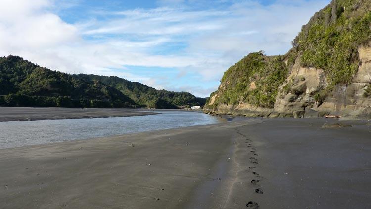 Para llegar a la playa hay que tener en cuenta a las mareas