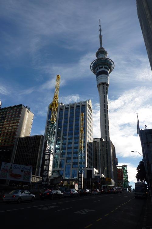 Sky Tower de Auckland