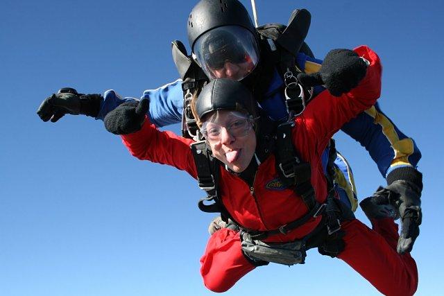 Volando sobre el lago Taupo