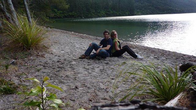 Cala de Blue Lake de Rotorua