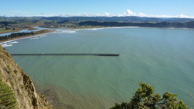 Pasarela Tolaga Bay, Nueva Zelanda