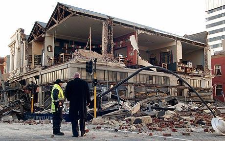 Consecuencias del terremoto en Christchurch