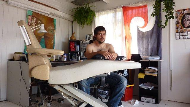 Estudio tatuadora Paitangi en Paihia