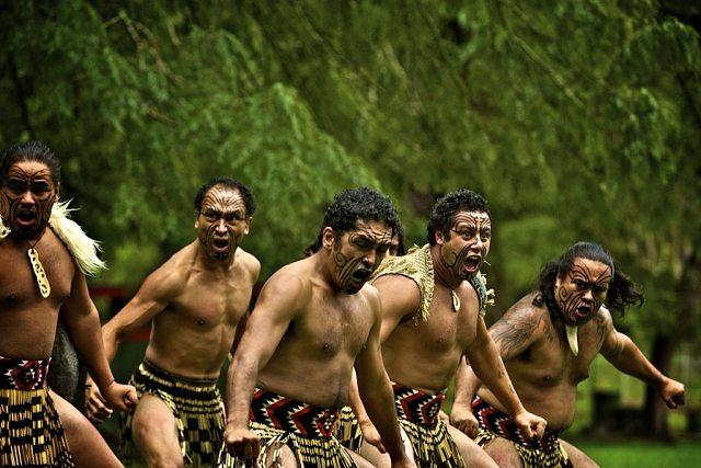 Haka, la danza tribal maorí