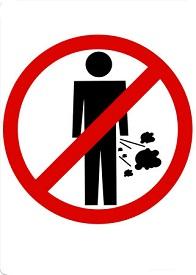 Prohibición defecar en la calle en Nueva Zelanda