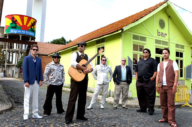 Grupo de música Fat Freddy´s Drop