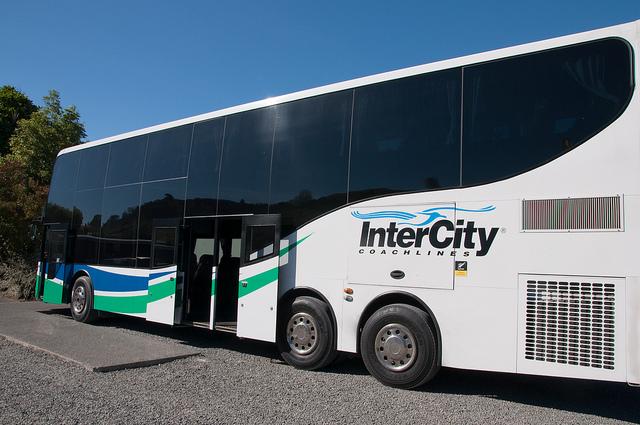 Intercity, autobús de Nueva Zelanda