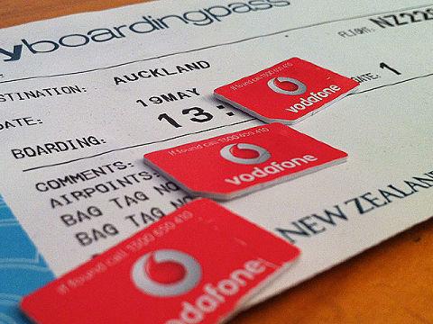 Vodafone también opera en Nueva Zelanda