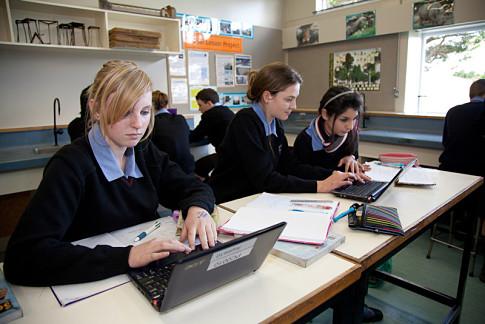 Estudiando en un colegio de Nueva Zelanda