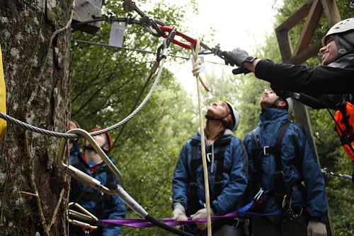 La seguridad en el Canopy Tour de Rotorua es de vital importancia