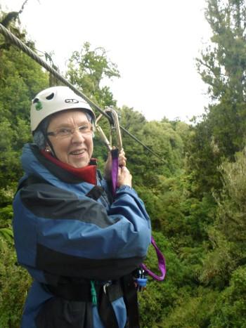 El Canopy Tour de Rotorua está pensado para todas las edades