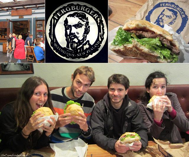 Si viajas a Queenstown hay que comer una hamburguesa en Fergburger