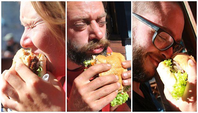 La hamburguesa Fergburger de Queenstown hay que observarla, olerla y, por supuesto, saborearla