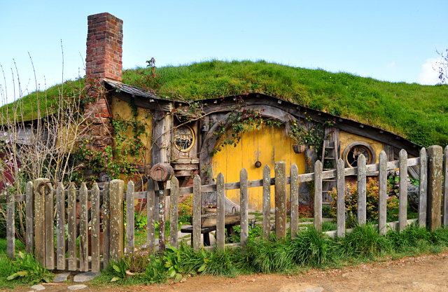 Casa de Sam en Hobbiton