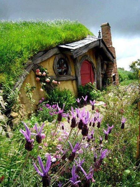 Para la construcción de Hobbiton se empleó madera, poliestireno, tierra y vegetación