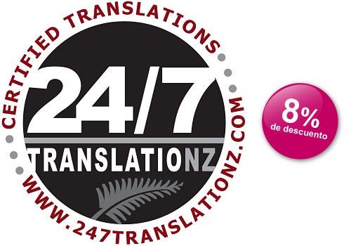 Descuento traducción documentos Nueva Zelanda