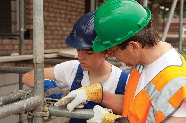 Trabajo construcción región Canterbury Nueva Zelanda
